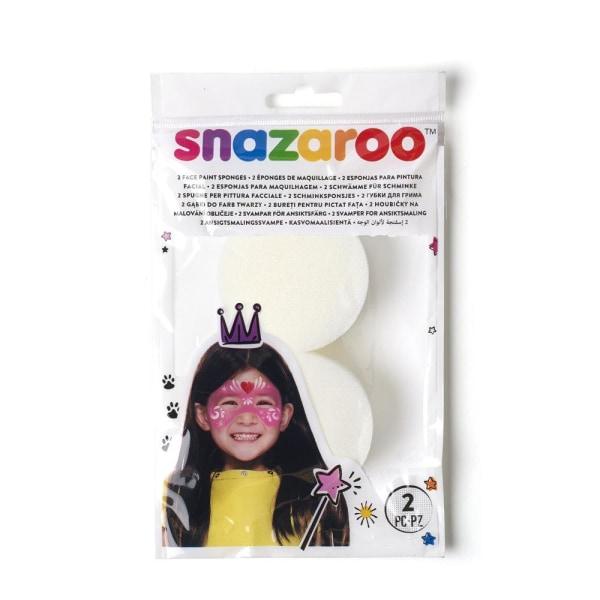 Appliceringssvampar/Makeupsvamp Snazaroo, 2/fp multifärg
