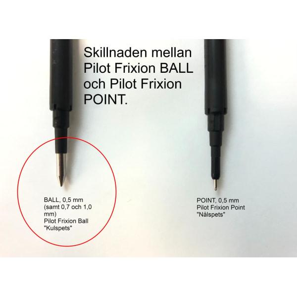 Kulpenna Pilot Frixion Clicker 05 BLRT-FR5-L (raderbar) 0,5mm Bl Blå