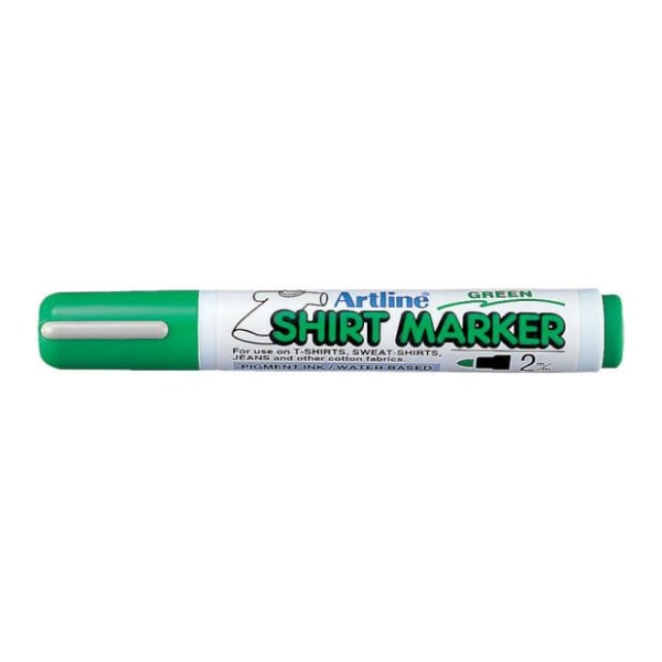Textilpenna Artline EKT-2 Shirt Marker 2,0mm Grön 1/fp Grön