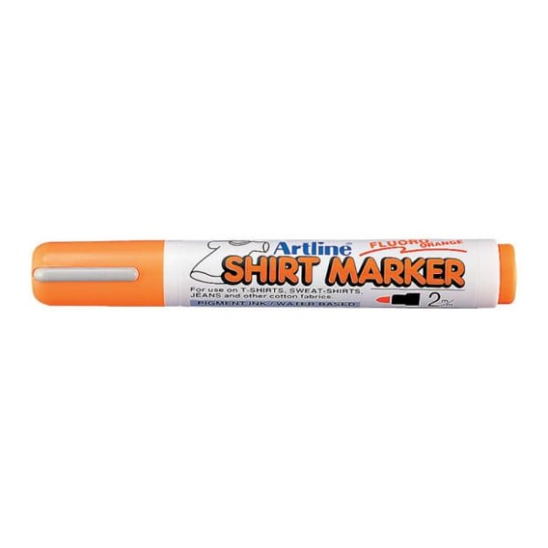 Textilpenna Artline EKT-2 Shirt Marker 2,0mm Orange 1/fp Orange