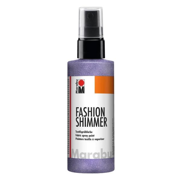 Textilsprayfärg Fashion Shimmer Spray 100ml Shimmer-Lilac Lila