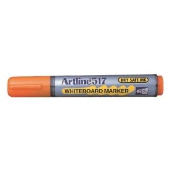 Whiteboardpennor Artline EK-517 Rund spets, Orange 1/fp Orange