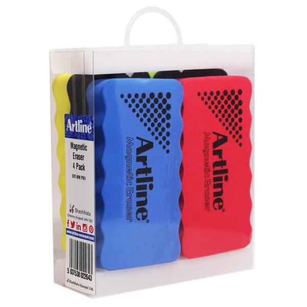 Whiteboardtorkare Artline Magnetic Eraser ERT-MM magnetisk, lite multifärg