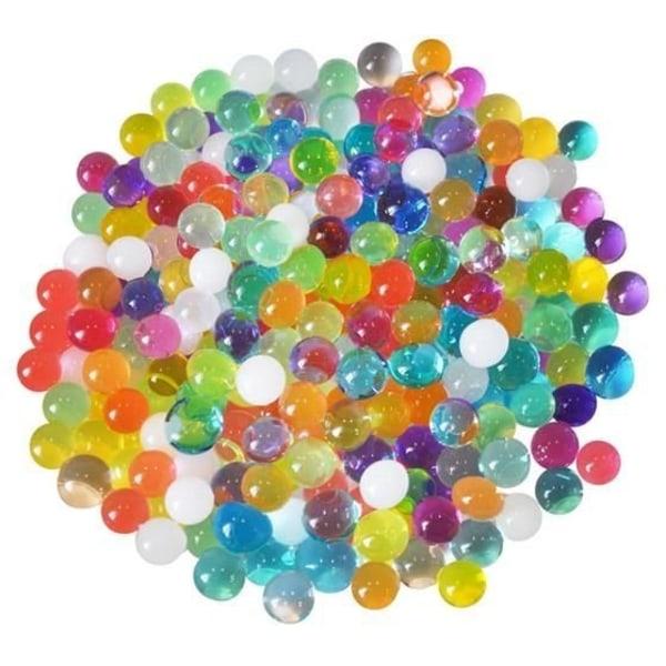5-Pack Vattenpärlor / Vattenkristaller stora: 15mm multifärg
