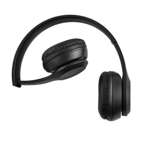 Bluetooth Stereo Hörlurar P47 med mikrofon Black Bluetooth
