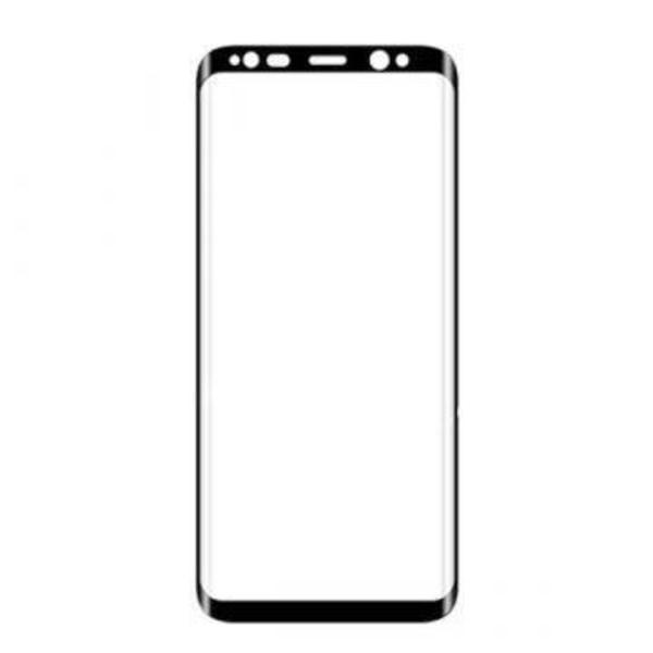 Fullt skal Samsung S8 Plus Härdat glas skärmskydd - Bla Svart