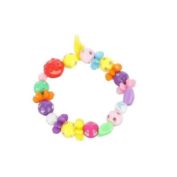 Gör dina egna armband och halsband - komplett kit multifärg