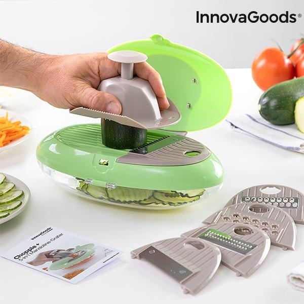 InnovaGoods 5-i-1 Choppie Plus / Mandolin Green