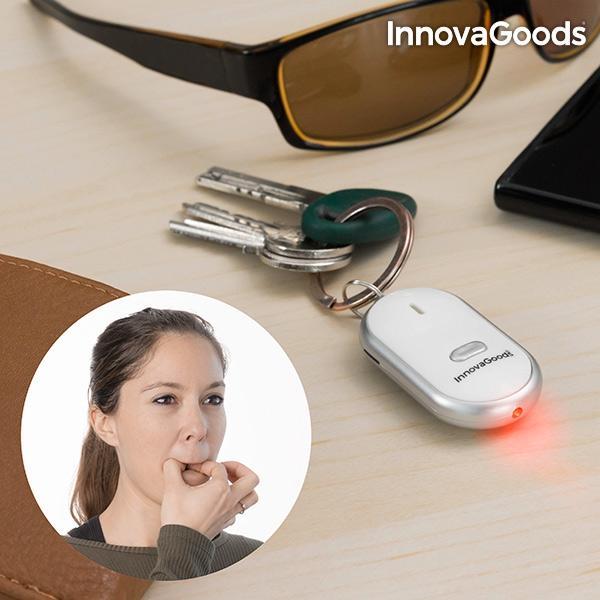 Innovagoods Keyfinder / Nyckelfinnare med LED Vit