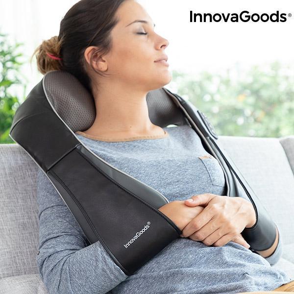 InnovaGoods Shiatsu Pro Massage Brown