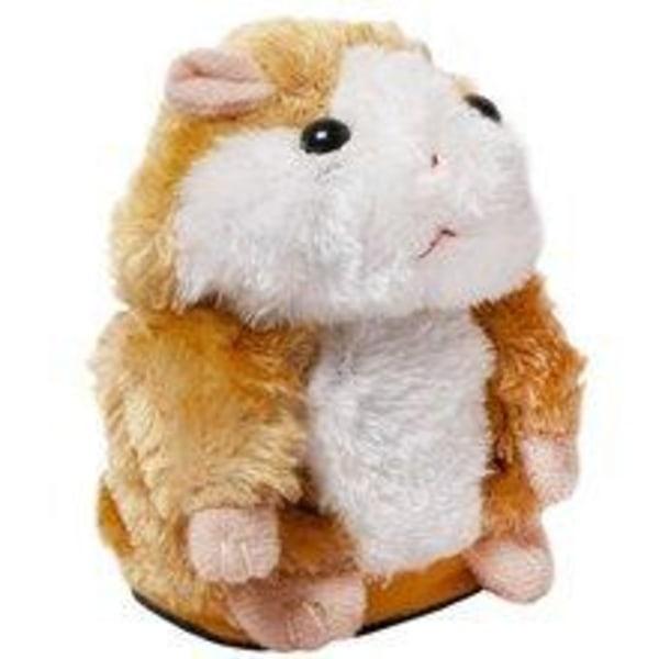Interaktiv Talande / Dansande Hamster Brun