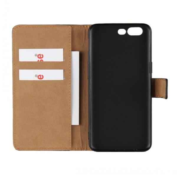 Plånbokfodral OnePlus 5, Äkta läder Svart