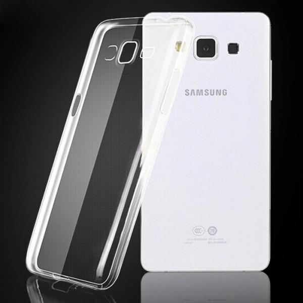 Skal i genomskinligt gummi, Samsung A5 2015 Transparent