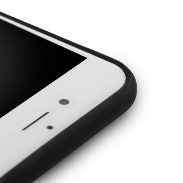 Skal i gummi (TPU), iPhone X /Xs, matt svart Svart