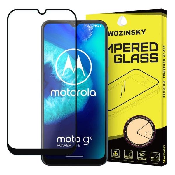 Skärmskydd Motorola Moto G8 Power i härdat glas Fullskärm Transparent