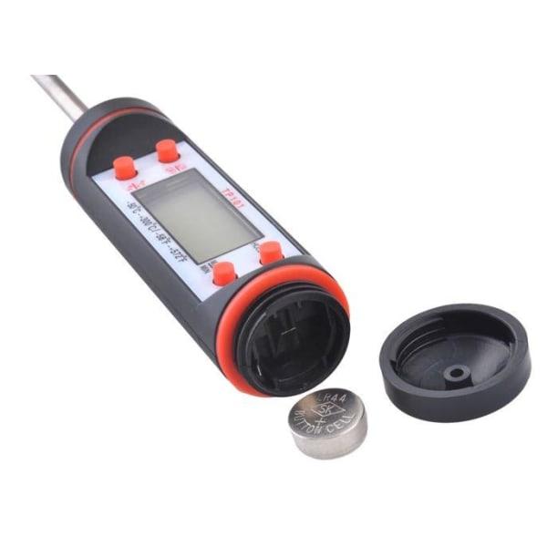 Stektermometer / Grilltermometer Svart