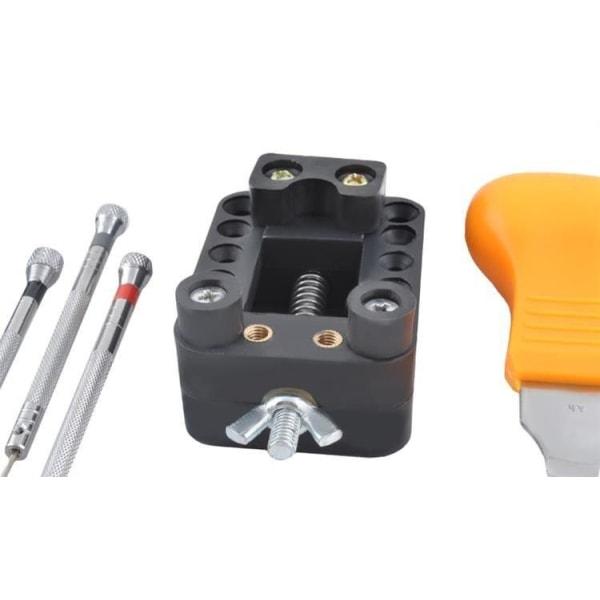 Verktygssats för klockor / Urmakarverktyg - komplett verktygskit