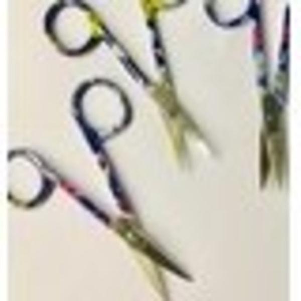 nagelbandssax mönstrad multi