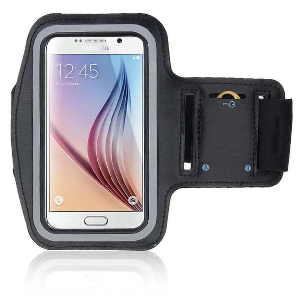 Sports Armband Samsung Galaxy S6/S6 Edge Svart