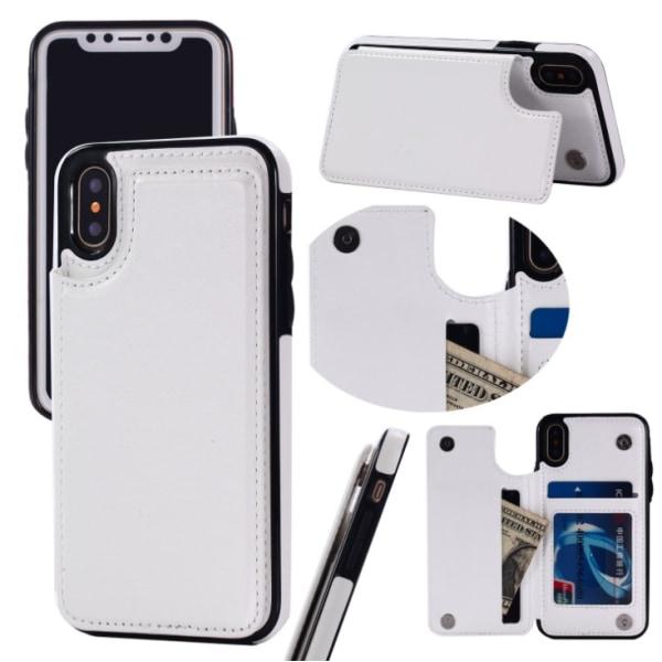 Back Card Case - iPhone 6 Brun