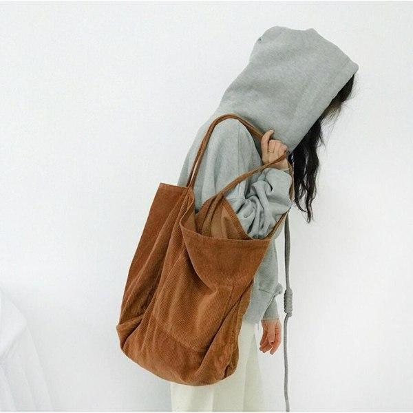 Cord Tote Bag  Vit