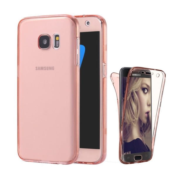 Full Protected TPU case-Galaxy S6 RoseGold