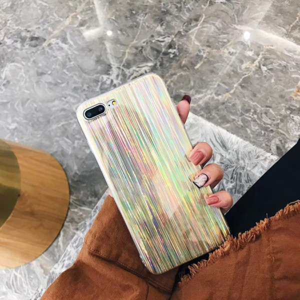 Laser Case - Iphone 6  Silver