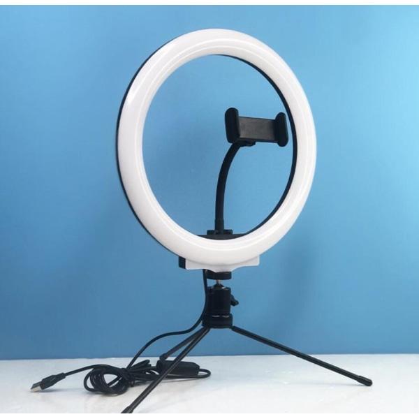 LED Ring Light Black