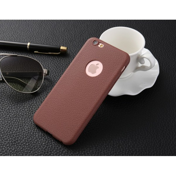 TPU Skin Case Iphone 7 Brun