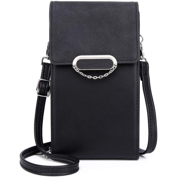 Vertical shoulder bag Röd