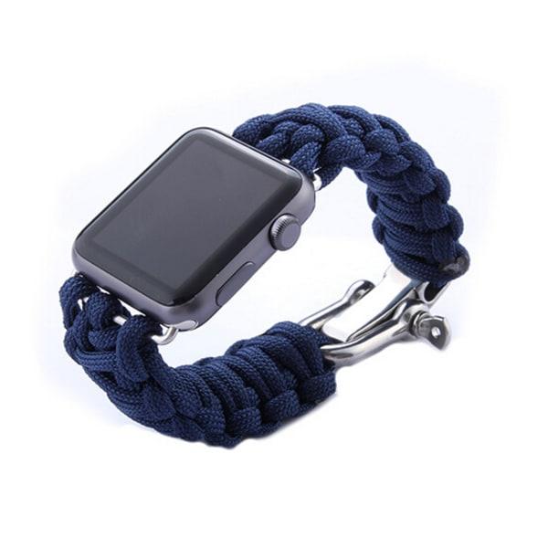 Weave Apple Watch band  38mm Blå