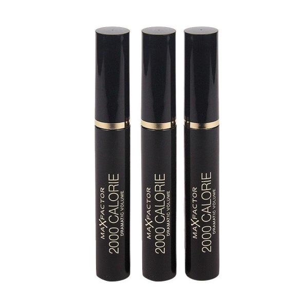 3-Pack Max Factor 2000 Calorie Mascara 9ml Transparent