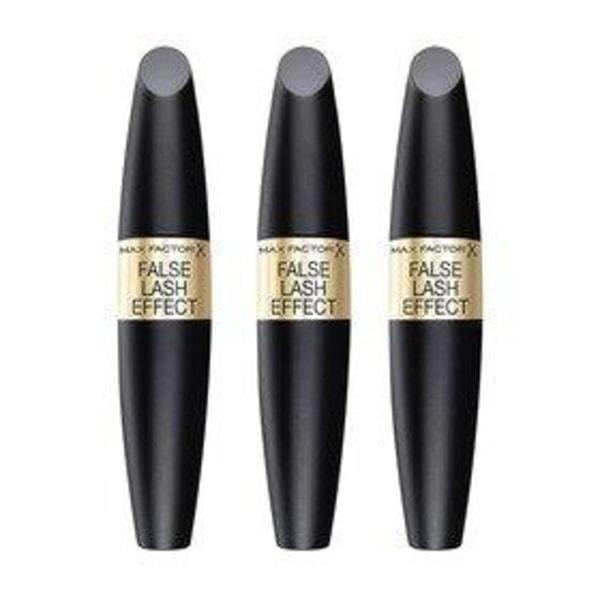 3-pack Max Factor False Lash Effect Mascara Black 13,1ml Transparent