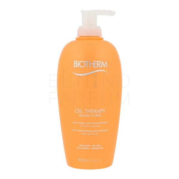 Biotherm Oil Therapy Nutri Replenishing Body Treatment 400ml Transparent