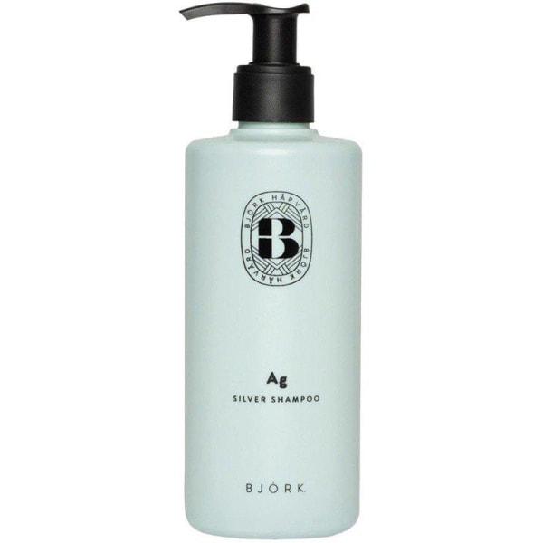 Björk AG Silver Shampoo 300ml Transparent