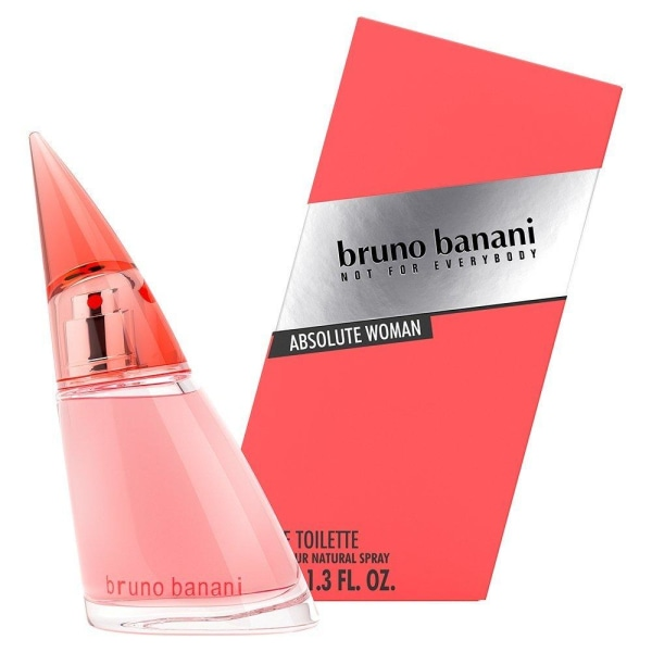 Bruno Banani Absolute Woman Edt 40ml Transparent
