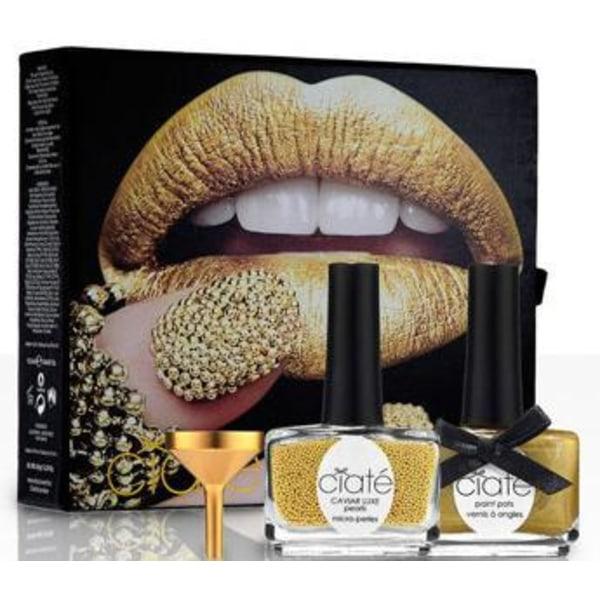 Ciaté Caviar Manicure Luxe Lustre Gold Transparent