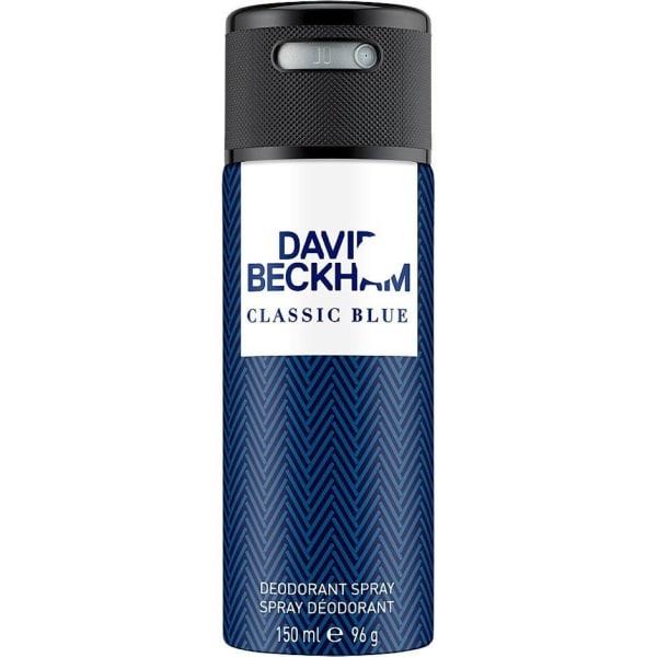 Classic Blue Deo Spray 150ml - David Beckham  Transparent
