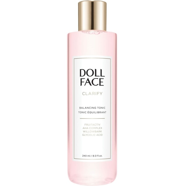 Doll Face Clarify Balancing Toner 240ml Transparent