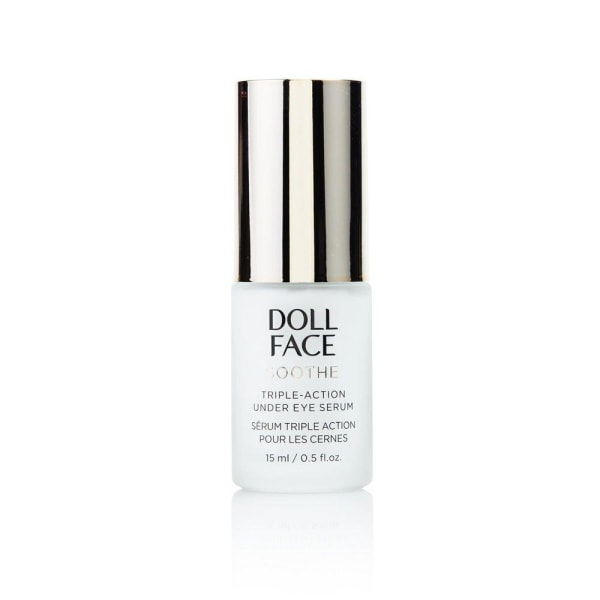 Doll Face Soothe Triple-Action Under Eye Serum 15ml Transparent