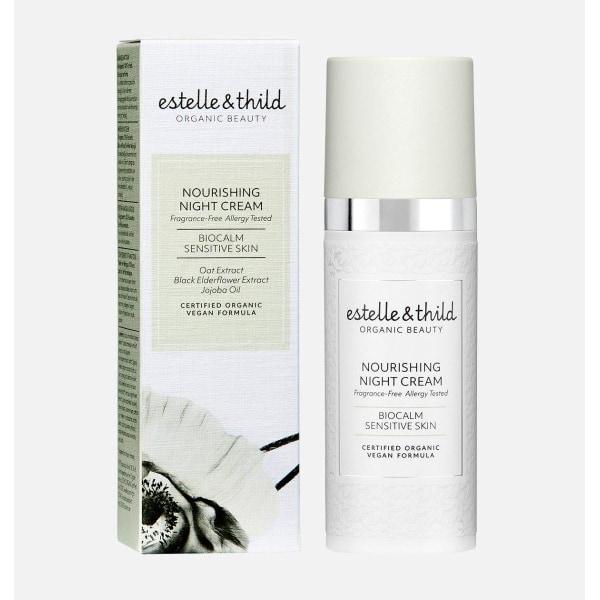 Estelle & Thild Nourishing Night cream 50ml Transparent