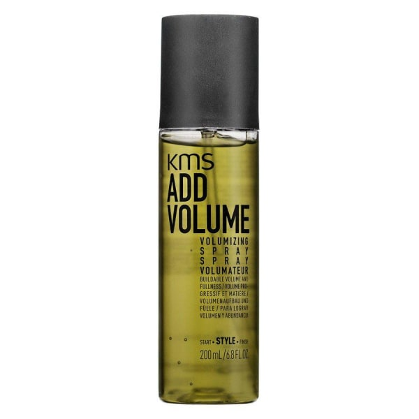KMS AddVolume Volumizing Spray 200ml Transparent