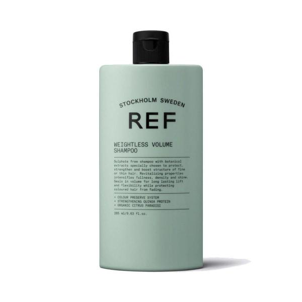 REF Weightless Volume Shampoo 285ml Transparent