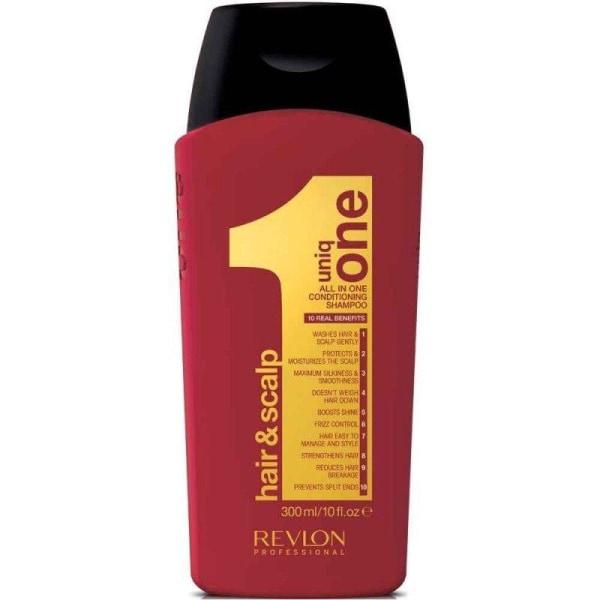 Revlon Uniq One All In One Conditioning Shampoo 300ml Transparent