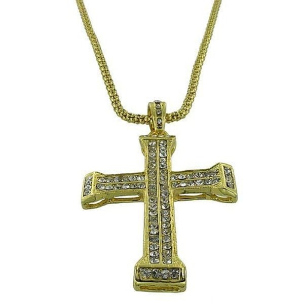 Halsband, Guld Kors Josef Guld