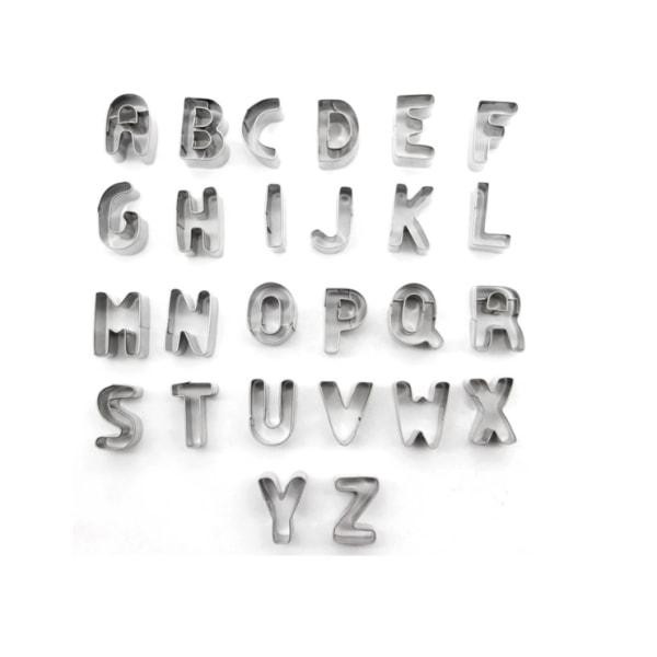 Utstickare - Bokstäver A-Z