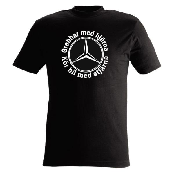 T-shirt Grabbar med hjärna kör bil med hjärna nr27 xl