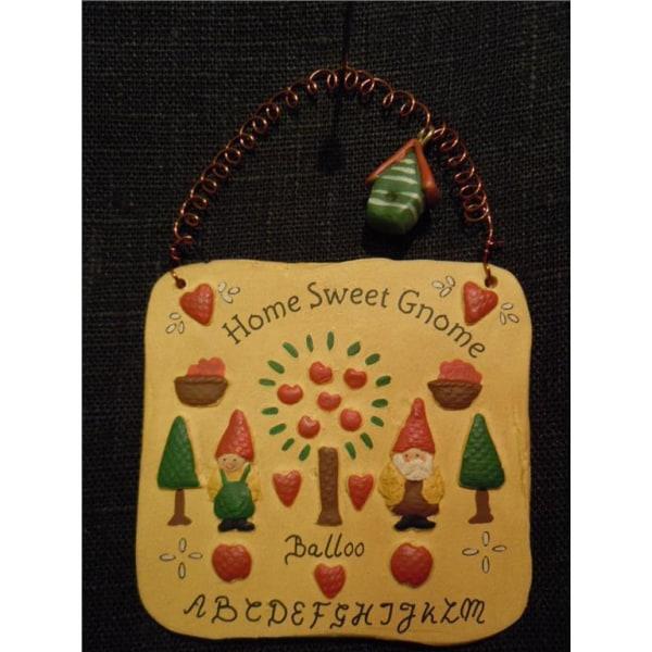 Gnomys diaries  Budskapstavla  Home Sweet Gnome (WL0401)