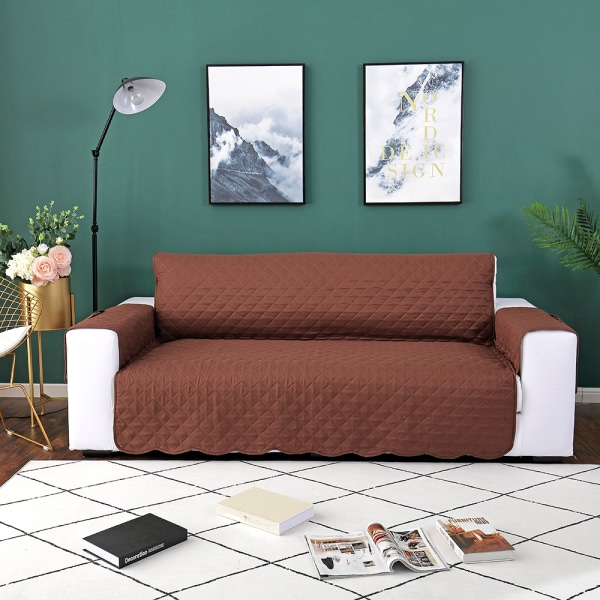 1/2/3 Seater Sofa Covers Lounge Protector Slipcovers Coffee,130x195cm