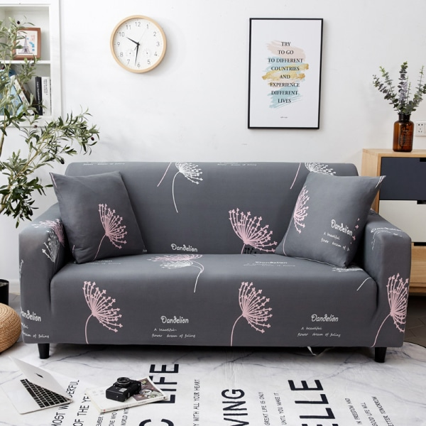 1-4 Seater High Stretch Sofa Elastic Couch Cover Slipcover Dream catcher,1 Seater